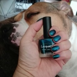 NOTD 11 maart 2017: E(s)merald(a) (Color4Nails Exclusive by Lacquester)