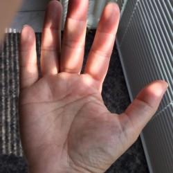 Gat in mijn hand