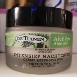 Review: De Tuinen  Aloë Vera Intensief Nachtcrème