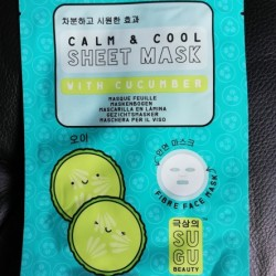 Review: SUGU Beauty Calm&Cool Sheet Mask with Cucumber