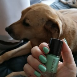 NOTD 23 november 2020: Take It Mint (Catrice)