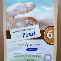 Review: i.myss natural pearl mask pack