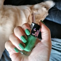 NOTD 31 december 2020: Wonderland Green Card (Catrice)