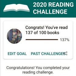 Lezen&Luisteren: GoodReads Reading Challenge 2020