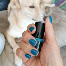 NOTD 6 mei 2021: Turquoise Blue (GOSH)
