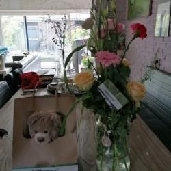 Dag 4169: Bloemen en een beertje