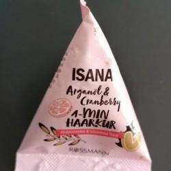 Review: Isana 1-Minute Haarkur Arganöl & Cranberry