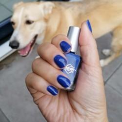 NOTD 12 september 2021: Blue Bell (Diamond Cosmetics)