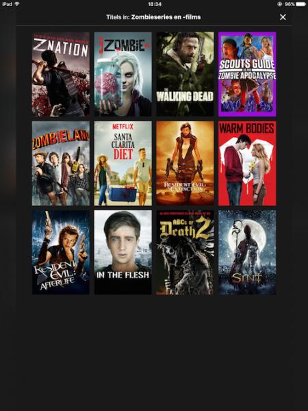 Dit is een Netflix screenshot
